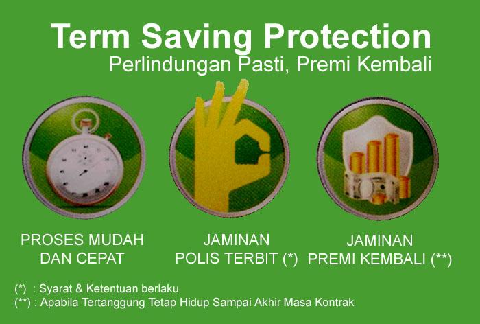 Keunggulan Term Saving Protection